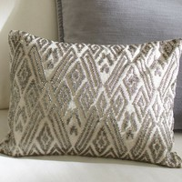 Maddie Beaded Lumbar Pillow Cover