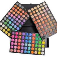 Frola Cosmetics Professional 180 Color Matte & Shimmer Eyeshadow Makeup Palette #02