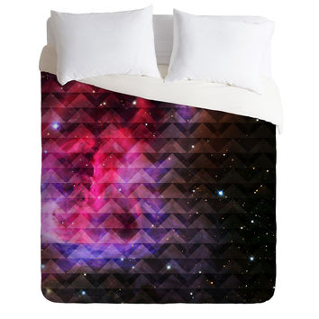 Caleb Troy Tribal Galaxy Elevator Duvet Cover - Luxe Duvet Cover /