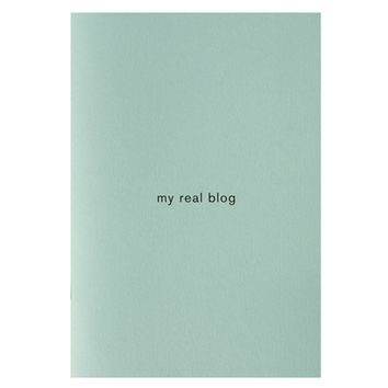 My Real Blog Notebook