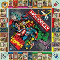 Buy Winning Moves Marvel Monopoly online at John Lewis