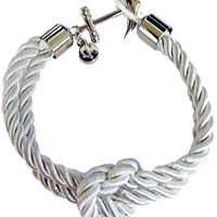 Nylon Rope Anchor Bracelet