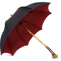 Francesco Maglia - Lord Chestnut Knot Wood Handle Umbrella | MR PORTER