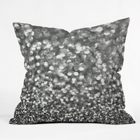 "Lisa Argyropoulos Steely Grays Throw Pillow - Indoor / 26"" x 26"" / Pillow Cover Only"