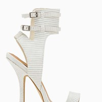 Shoe Cult Captive Sandal - White
