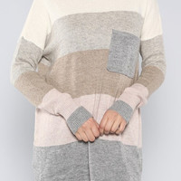 Long Pocket Sweater - Something Madison