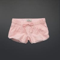 floral lace pretty shorts