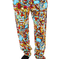 Marvel Universe Iron Man Pajama Pants