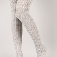 Bundle Burst Thigh High Socks
