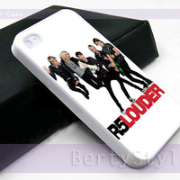 Iphone Case - Iphone 4 Case - Iphone 5 Case - Samsung s3 - samsung s4 - R5 Louder Band - Photo Print on Hard Plastic