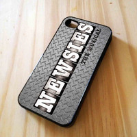 Newsies Broadway Musical Logo Steel Design for iPhone 4/4s/5, Samsung Galaxy S3/S4 Case