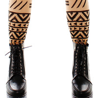 Geometric Tribe Stockings