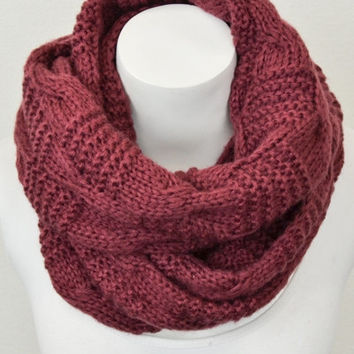 Winter Solstice Infinity Scarf