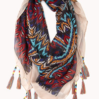 Well-Traveled Beaded Scarf