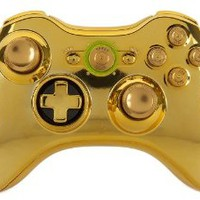GM Master Mod GOLD Metal Thumbsticks, Bullet Buttons, Trigger Stops, Quickscope, drop shot, Rapid fire for Black Ops 2 Xbox 360 Modded Controller COD MW3, Black Ops 2, Rapid fire mod