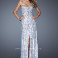 La Femme 19387 at Prom Dress Shop