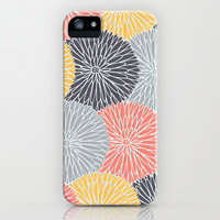Flower Infusion iPhone & iPod Case by Monica Gifford