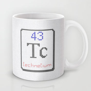 Tc technetium 43 Mug by LacyDermy