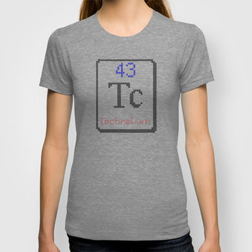 Tc technetium 43 T-shirt by LacyDermy