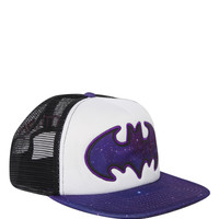 DC Comics Batman Galaxy Logo Snapback Trucker Hat