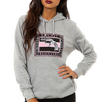 The Ratchet Resolvers Pullover Hooded Sweatshirt in Heather Grey