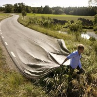 """Go Your Own Road"" - Art Print by Erik Johansson"