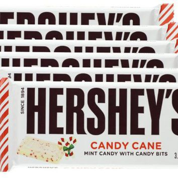 Hershey's Holiday White Chocolate Candy Cane Bar (Pack of 6)
