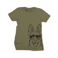 Inkopious - Brutus - German Shepherd T-Shirt