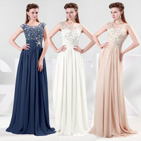 2013 Long Chiffon Evening Formal Bridesmaid Wedding Ball Gown Prom Party Dresses