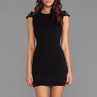 Bardot Studette Dress in Black
