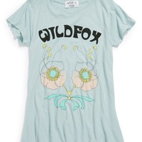 Wildfox 'Desert Logo' Crewneck Tee (Big Girls) | Nordstrom