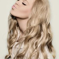 "22"" Ash Blonde Clip In Hair Extension"