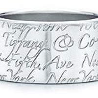 Tiffany & Co. | Item | Tiffany Notes ring in sterling silver, wide. | United States