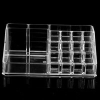 Cosmetics Organizer Clear Acrylic Make Up Holder Large Display Case Drawer