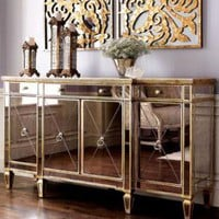 Mirrored Buffet/Console - Horchow