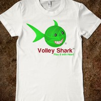 Volley Ball Volley Shark neon green