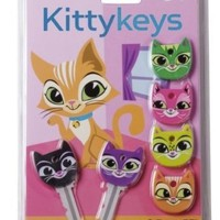 Gama-Go Kitty Keys The Purrfect Key Toppers