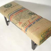 Coffee Sack Bench Multi Bag by bDagitzFurniture on Etsy
