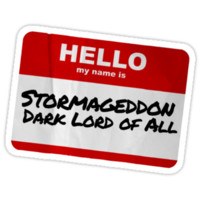 Hello My Name Is Stormageddon - Doctor Who Kids Clothes