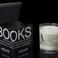 Book Scented Candles by Assouline