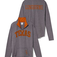 University of Texas Raw Half-zip Pullover - PINK - Victoria's Secret