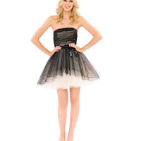 DARJEELING DRESS STRAPLESS DRESS - Betsey Johnson