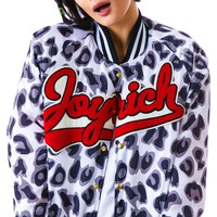 Candy Leopard Athletic Jacket