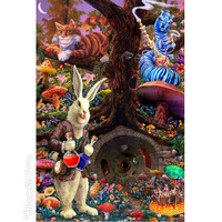 Alice in Wonderland - Down the Rabbit Hole Poster on Sale for $6.99 at HippieShop.com