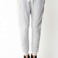 Off-Duty Speckled Sweatpants