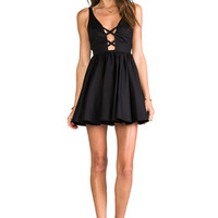 Casper & Pearl Arizona Tank Dress in Black