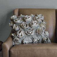 Deconstructed Rose Pillow Cover | west elm