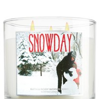 14.5 oz. 3-Wick Candle Snow Day