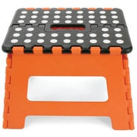 EASY FOLD 9'' STEP STOOL ORANGE
