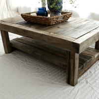Reclaimed Barnwood Coffee Table